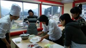 ケーキ作り アンソレイユ 高千穂 スイーツ カフェ