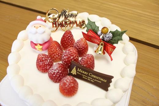 2014年 クリスマスケーキ デコレーション 高千穂 アンソレイユ